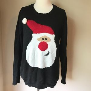 Sweaters - Santa Claus Christmas sweater size large